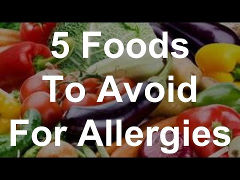 5 Foods To Avoid For Allergies