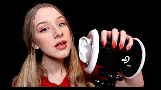 ASMR tapping on that part of the mic which sounds really good