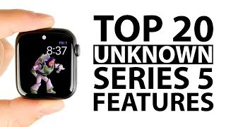 Top 20 Unknown Apple Watch Series 5 Features