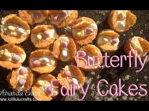 Bake Date w/Lolli:- Easter Butterfly Fairy Cakes