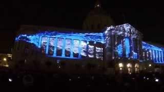 San Francisco City Hall Dazzling 100th Anniversary Light Show