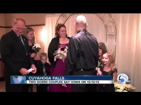 12-12-12 Cuyahoga Falls weddings