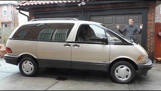 The Toyota Previa Is the Weirdest Minivan Ever