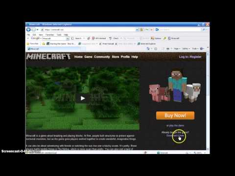 How to get Minecraft on your Windows computer FOR FREE