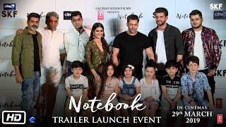 Notebook | Trailer Launch Event | Salman Khan, Pranutan Bahl, Zaheer Iqbal, Nitin Kakar