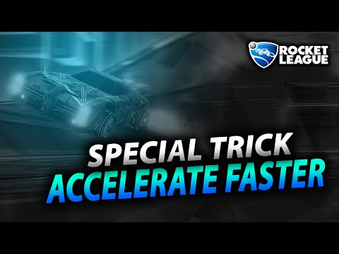 Rocket League Tips | How to Boost Dodge Properly | Trick to Accelerate Faster