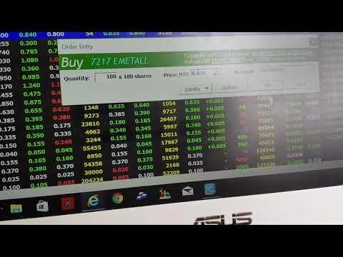 Bagaimana untuk membuat BUY dan SELL ORDER di online trading platform Maybank Investment Bank