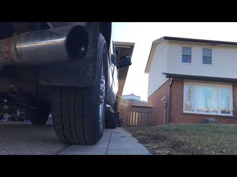 How to make you cummins turbo louder for free/ stuck turbo silencer ring removal
