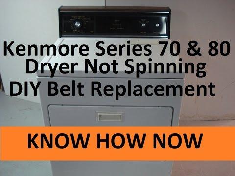 Kenmore Dryer Belt Replacement (Whirlpool Dryer)