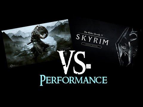 SKYRIM vs. SKYRIM Special Edition : Performance/FPS | 1080p@Ultra
