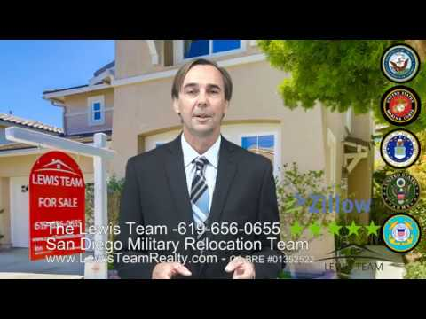San Diego Military Relocation Experts - San Diego Real Estate - The Lewis Team