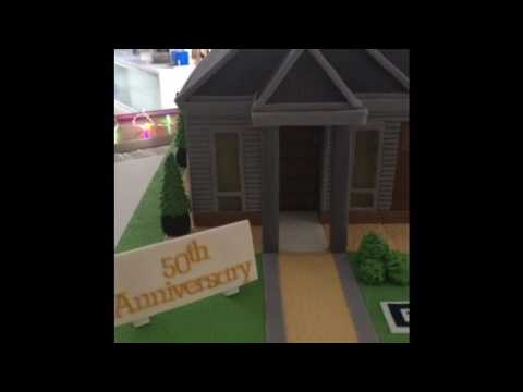 3D House Cake