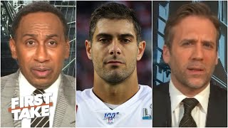 Stephen A. denies being too hard on Jimmy Garoppolo   First Take