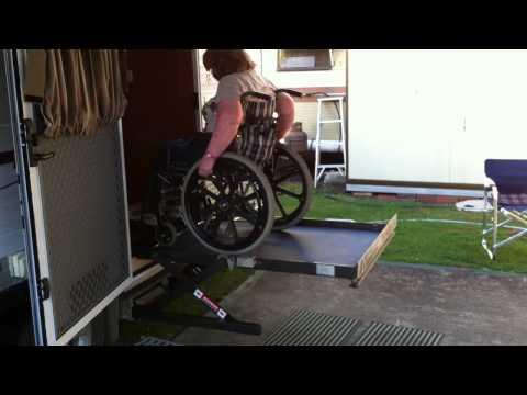 Wheelchair Accessible Caravan