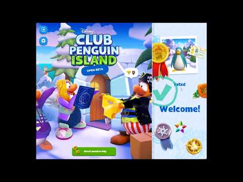 How to make a club penguin island account