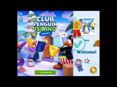 How to make a club penguin island account