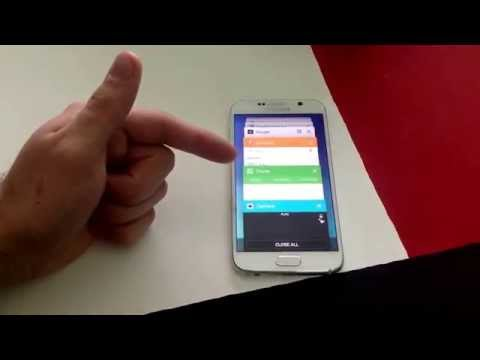 Samsung Galaxy S6 - How to turn off running apps