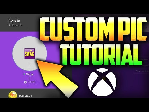 Xbox One - How to Get CUSTOM Gamer Pictures & Themes! (TUTORIAL)::