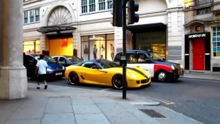 Ferrari Scares Kid!