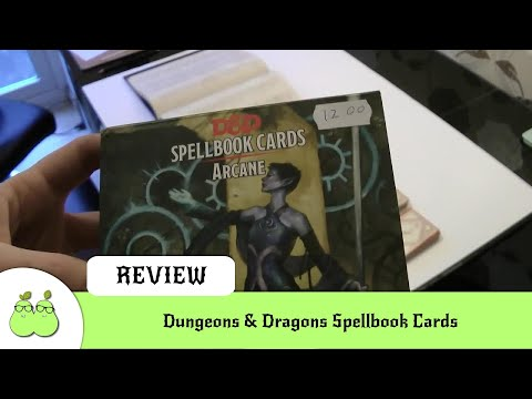 Dungeons & Dragons Spellbook Cards