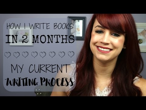 How I Write Books in 2 Months | My Current Writing Process