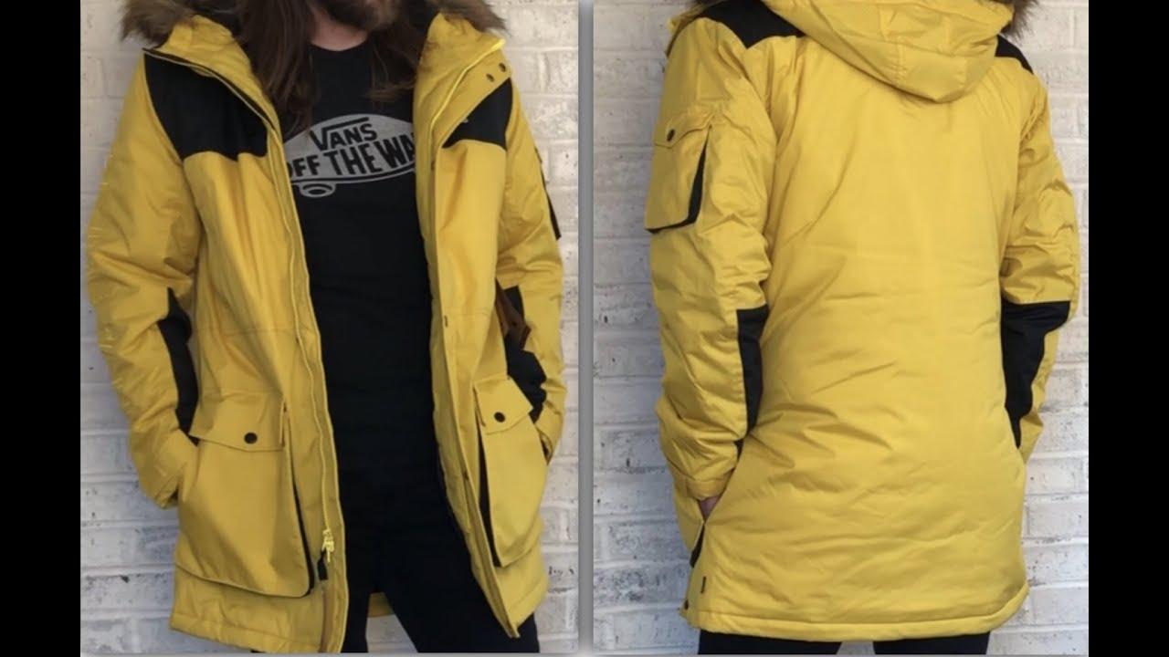 Vans All Weather Sholes MTE Jacket ( Sulphur / Blac ) Unboxing & Style Winter Coat