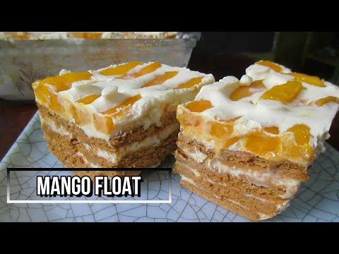 How to Make Mango Float Recipe | No Bake Mango Float
