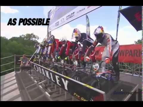ADVANCED BMX GATE  START TECHNIQUE part 1