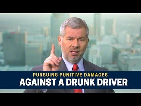 Pursuing Punitive Damages Against a Drunk Driver