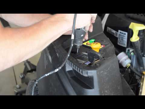 Installing 12V outlet and LED bar on (Zero Turn) Riding Lawn Mowers
