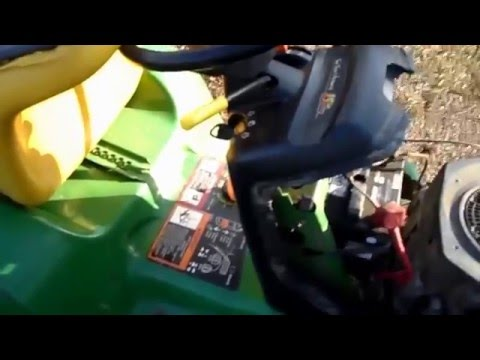 HOW TO START YOUR ENGINE WHEN YOU HAVE A FAULTY STARTER SOLENOID CONTACTOR LAWN MOWER