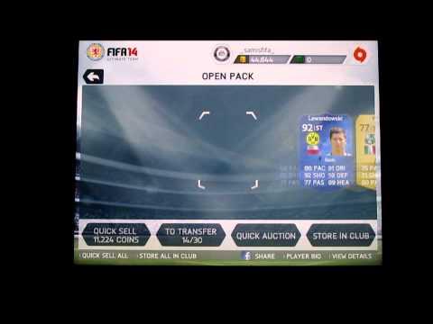 FIFA 14 IOS - MY BEST PACKS YET! INSANE PACK LUCK!! (35K Packs)!