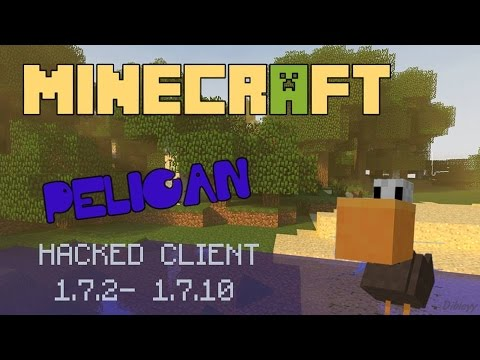 Minecraft 1.7.2 - 1.7.5 : Hacked Client - PELICAN ! - TOP PVP CLIENT ! [HD]