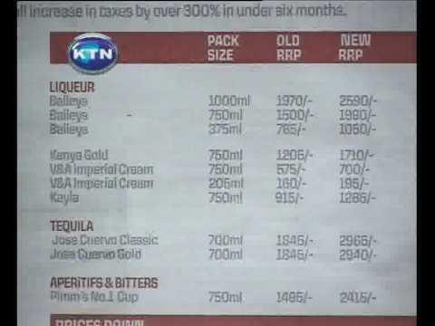 Spirit wine prices up