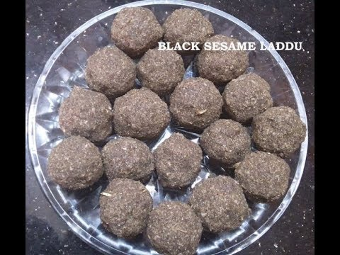 Black Sesame Laddu |Simple,Healthy and Delicious Recipe | With Mom