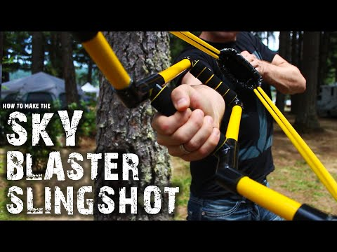 How To Make The Skyblaster Slingshot