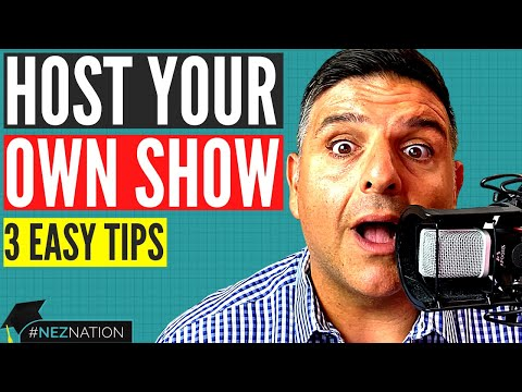 How To Host A Talk Show: 3 Tips For Beginners