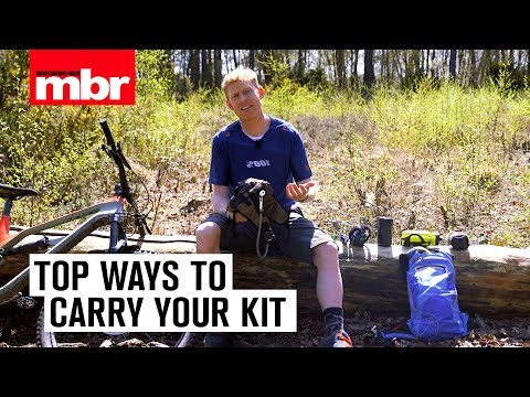 Top Ways To Carry Your Kit | Mountain Bike Rider