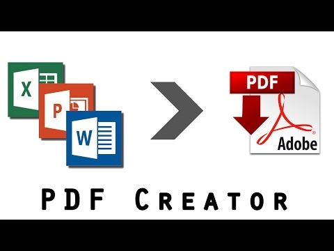 How to Create PDF from MS Office (Word, Powerpoint, Excel)