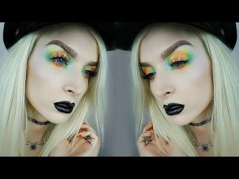 Pastel Goth   Tie-Dye Eyeshadow Tutorial