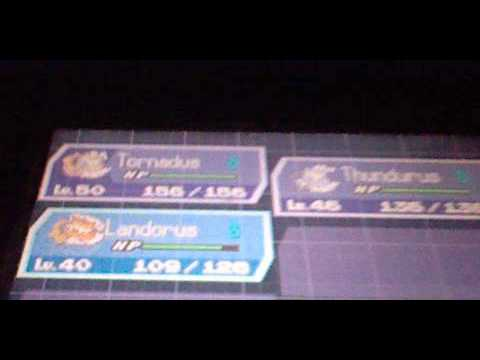 How to change the forms of Tornadus Thunderus and Landorus