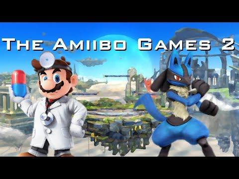 The Amiibo Games 2   Round 1 Set 1   Big Pill Doc (Dr. Mario) vs. Blumario (Lucario)