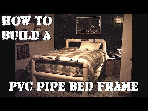 How to Build a Bed Frame from PVC Pipe