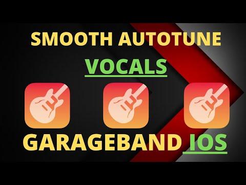 How to get SMOOTH VOCALS with SUBTLE AUTOTUNE GarageBand IOS