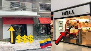 TIENDAS DE LUJO EN VENEZUELA 😱💵👜 | GLADYS SEARA
