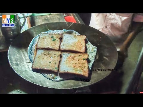 BREAD OMELET | HYDERBAD STREET FOOD | STREET FOOD IN INDIA street food