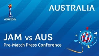 JAM v. AUS - Australia - Pre-Match Press Conference