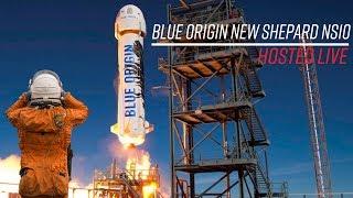 Watch Blue Origin launch their New Shepard rocket!