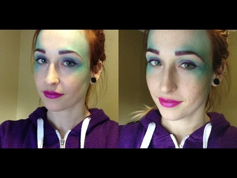 Quick Mermaid Makeup Play