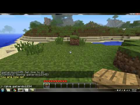 Minecraft Server Command Tutorial (No Modding!)